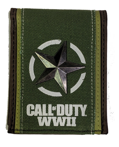 Call of Duty WWII Canvas Wallet