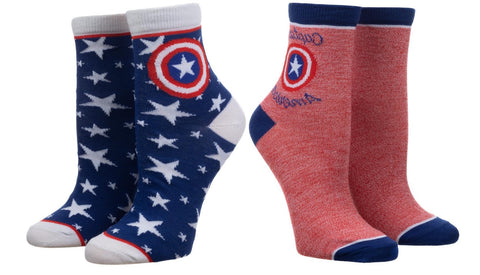 Captain America Anklet Socks Set