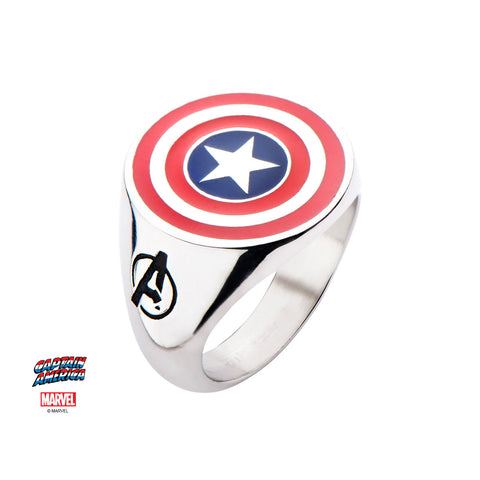 Captain America Logo Ring