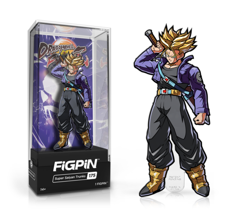 Dragon Ball FighterZ Super Saiyan Trunks FiGPiN