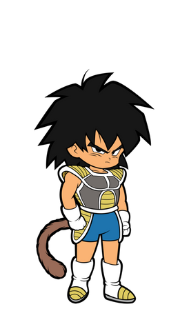Dragon Ball Super Broly Movie Kid Broly FiGPiN Mini
