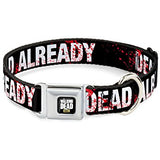 "The Walking Dead ""Dead Already"" Dog Collar"