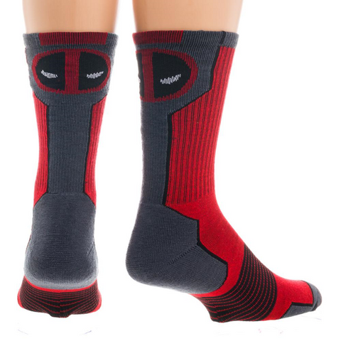 Deadpool Performance Crew Socks