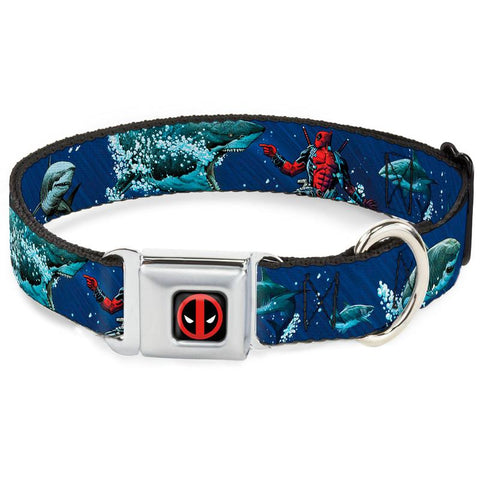 Deadpool Shark Dog Collar
