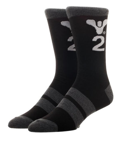 Destiny 2 Logo Crew Socks