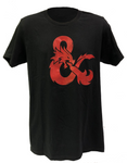 Dungeons & Dragons Red Foil Logo T-Shirt
