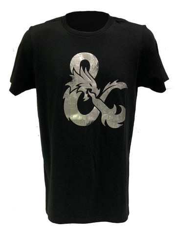 Dungeons & Dragons Silver Foil Logo T-Shirt