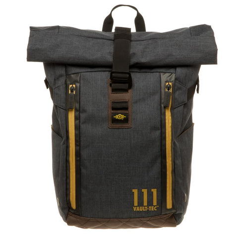 Fallout Vault 111 Roll Top Backpack
