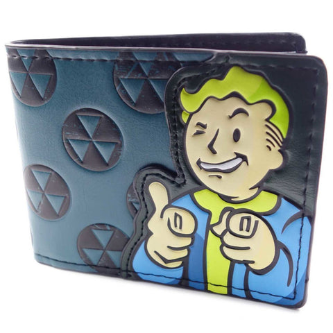 Fallout Vault Boy Finger Guns Wallet