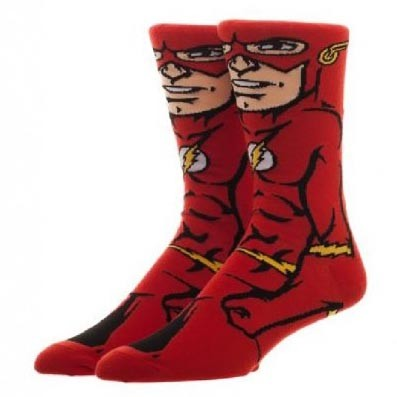 The Flash Character Crew Socks