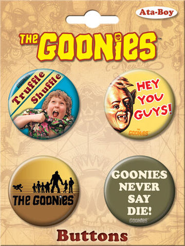The Goonies Button Set