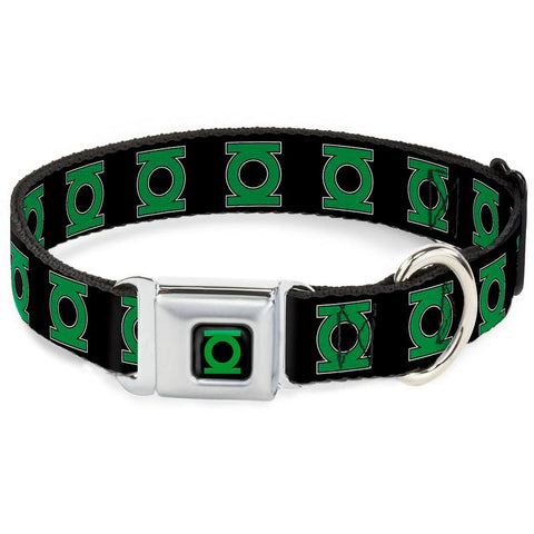 Green Lantern Black Dog Collar