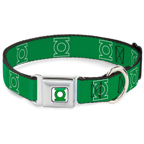 Green Lantern Green Dog Collar