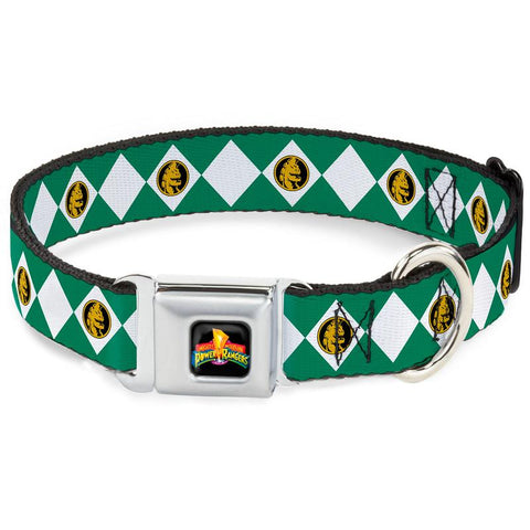 Power Rangers Green Ranger Dog Collar