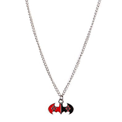 Harley Quinn Batman Logo Necklace