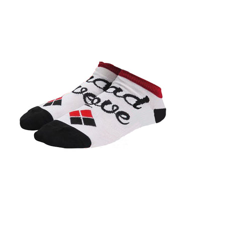 Harley Quinn Mad Love Ankle Socks
