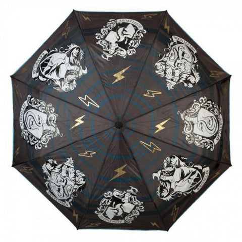 Harry Potter Crests Color Changing Umbrella