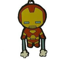 Iron Man Kawaii Keychain