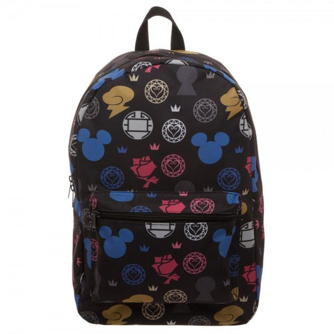 Kingdom Hearts Pattern Backpack