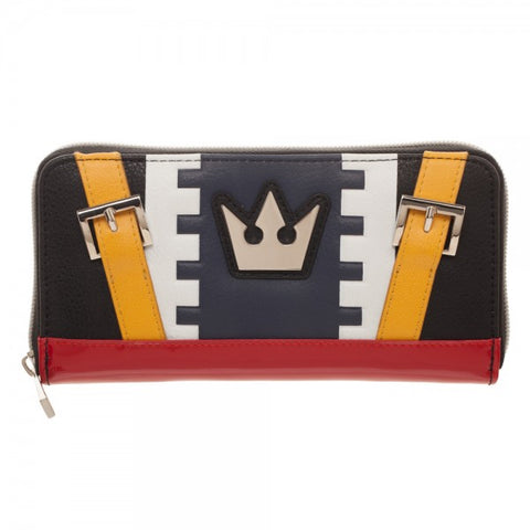 Kingdom Hearts Sora Costume Zipper Wallet