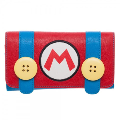 Super Mario Costume Flap Wallet