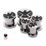 Marvel Shield Steel Plugs