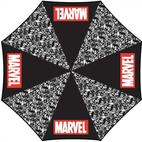 Marvel Comics Pattern Umbrella