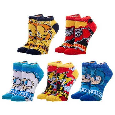 Mega Man Character Ankle Socks