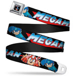 Mega Man & Rush Logo Belt