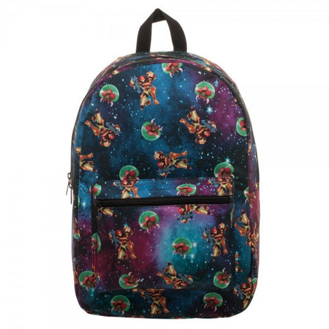 Metroid Pattern Backpack