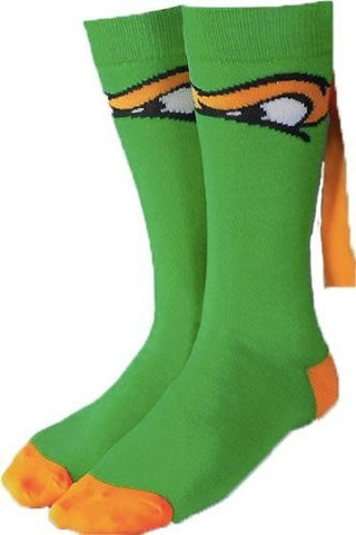 Teenage Mutant Ninja Turtles Michelangelo Crew Socks