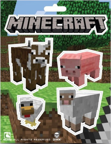 Minecraft Animals Sticker Pack