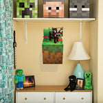 Minecraft Cow Wall Cling