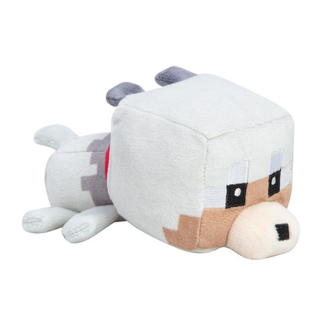 Minecraft Mini Tamed Wolf Plush