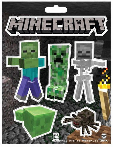 Minecraft Monster Stickers