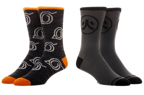 Naruto Crew Sock Set