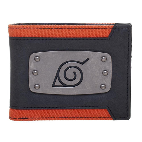 Naruto Leaf Badge Wallet