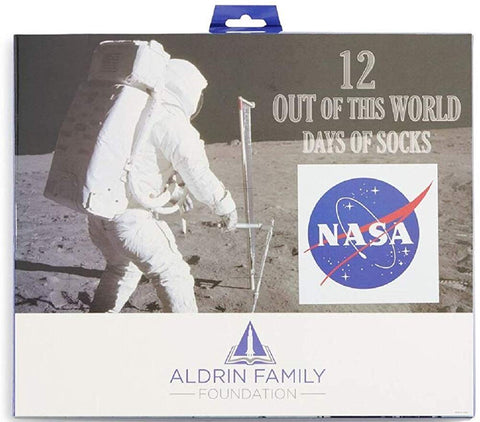 NASA 12 Days of Socks Gift Box