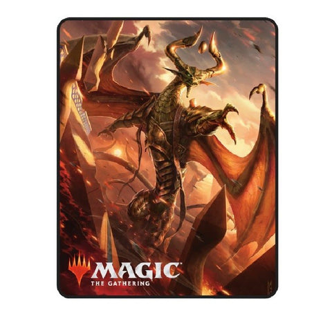 Magic the Gathering Nicol Bolas Throw Blanket