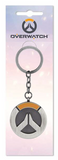 Overwatch Brushed Metal Keychain