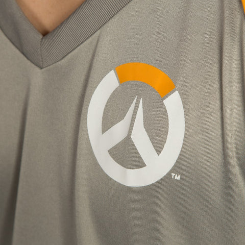 Overwatch Gray Gaming Jersey