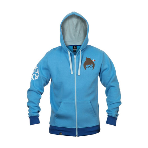 Overwatch Mei Zip-Up Hoodie