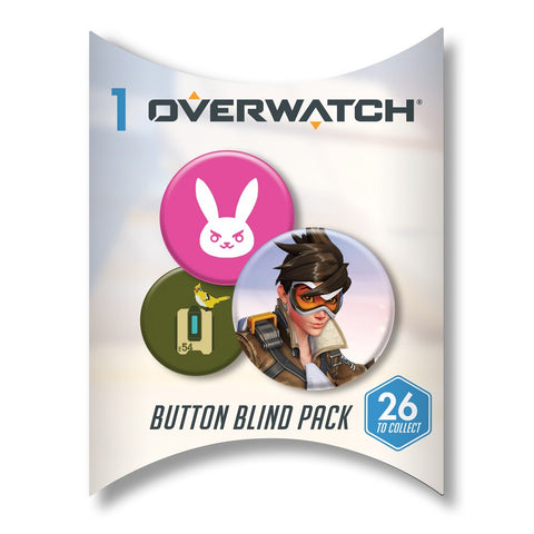Overwatch Button Blind Pack Series 1