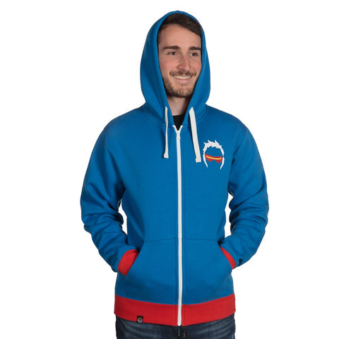 Overwatch Soldier 76 Zip-Up Hoodie