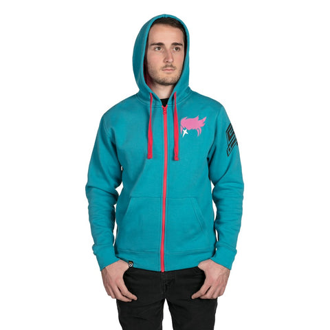 Overwatch Zarya Zip-Up Hoodie