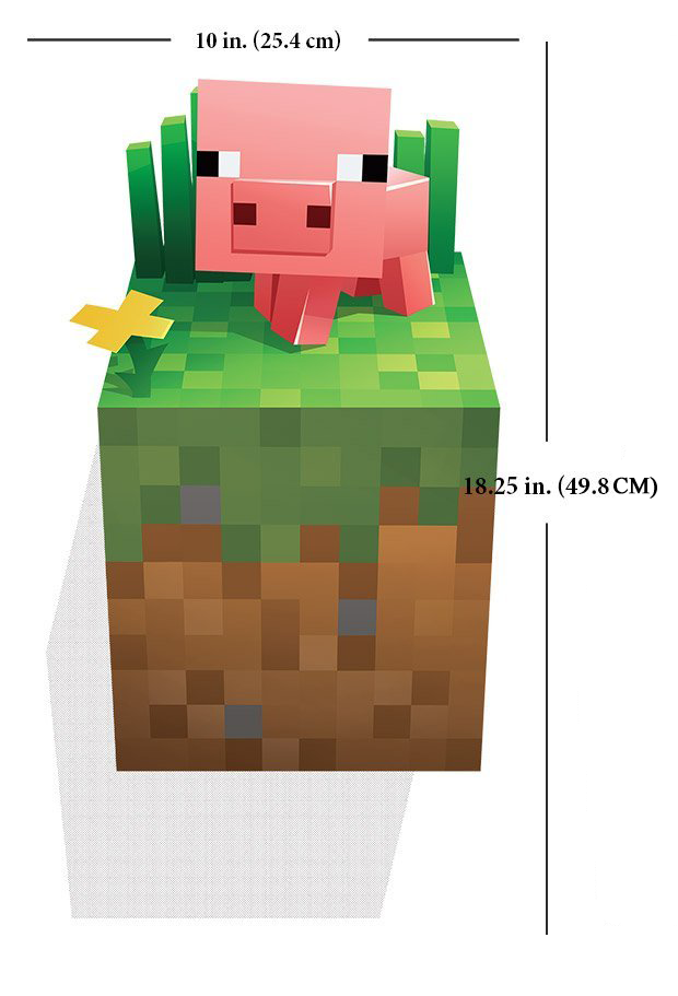Minecraft Pig Wall Cling Gaming Outfitters