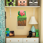 Minecraft Pig Wall Cling
