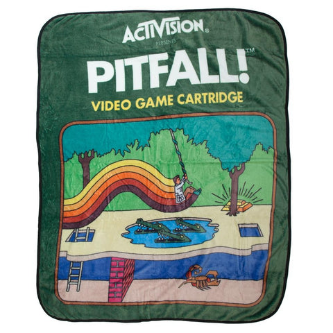 Activision Pitfall Throw Blanket