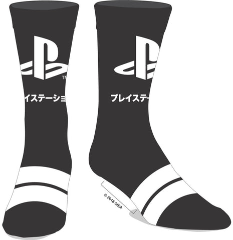 PlayStation Japanese Logo Crew Socks