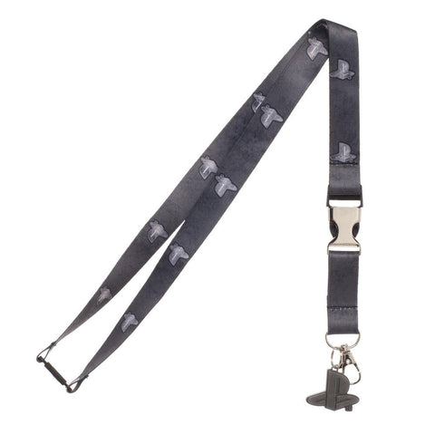 PlayStation Metal Charm Lanyard